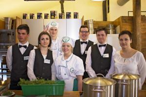 Zespół Szkól Gastronomicznych z Łodzi był wykonawcą, bardzo zdolnym jak się okazało :)