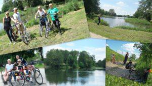 wycieczka rowerowa mieszkańców Trębackiej wraz z Bogumiłem Radzińskim oraz Magdaleną Perzyńską :)